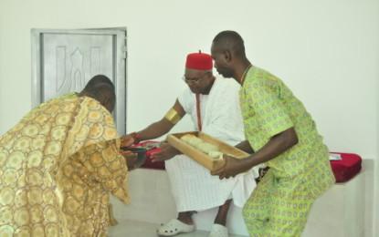 Obi Alfred Achebe Kicks Off 'Ite Umatu Eze Onicha In Grand Style(pictures)