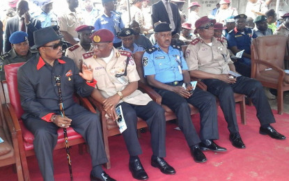 Gov Obiano kicks off Road Safety Campaign at Bridge Head, Onitsha