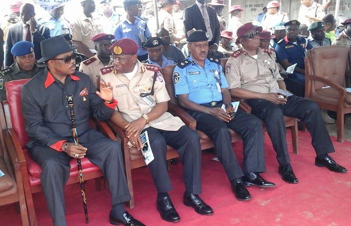 Gov Obiano kicks off Road Safety Campaign at Bridge Head, Onitsha