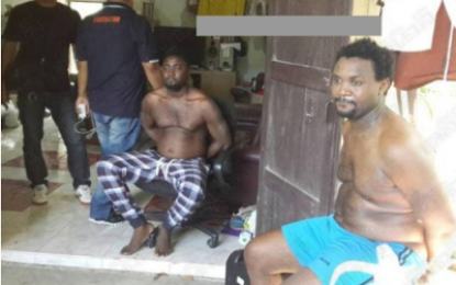 Cocaine:Two Nigerians Arrested In Thailand!