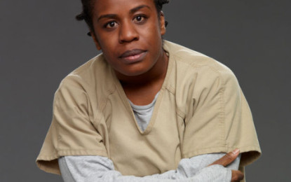 Uzo Aduba Has Crazy Eyes For Emmy Awards