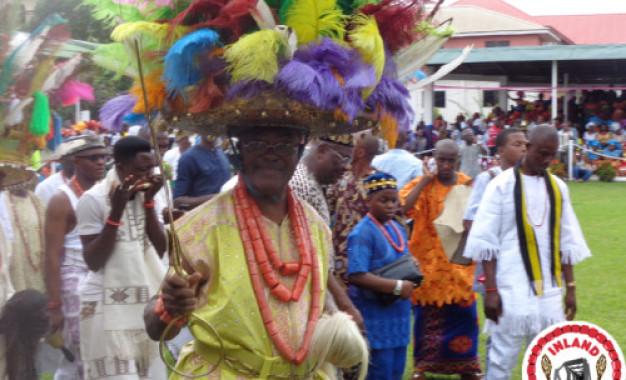 Ofala Onitsha – As King And People Meet