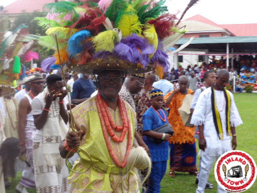 Ofala Onitsha – As King And People Meet