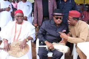 Areh, Obiano,Okeke at Onitsha