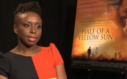 Chimamanda Adichie's Half of a Yellow Sun wins 'best of the best' Baileys prize