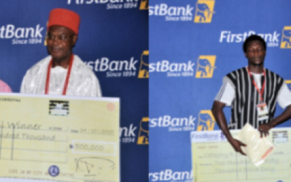 Obi Alfred Achebe In Enugu To Support First Bank's Visual Arts Festival