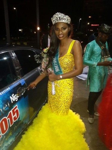 Anambra Girl Wins Miss Planet Nigeria 2015