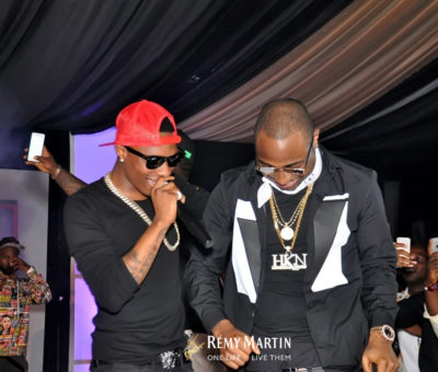 Remy Martin Reconciled Davido And Wizkid (Pictures)