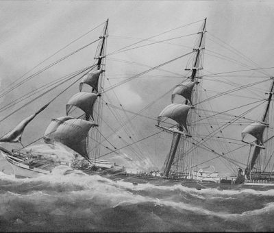 'Christmas At Sea ' By Robert Louis Stevenson
