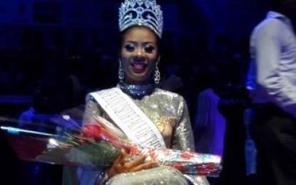 Anambra Born Collete Nwadike wins Exquisite Face of the Universe 2015 beauty pageant in São Tomé