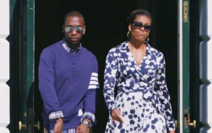 Michelle Obama Turns A Hip Hop Artist (Video)