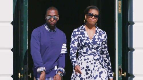 Michelle Obama Turns A Hip Hop Artist (Video)