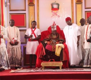 The newly crowned Olu of Warri, His Majesty, Ogiame Ikenwoli Emiko 1(Pictures)