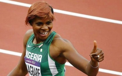 Blessing Okagbare beats Usain Bolt to Guinness World Record