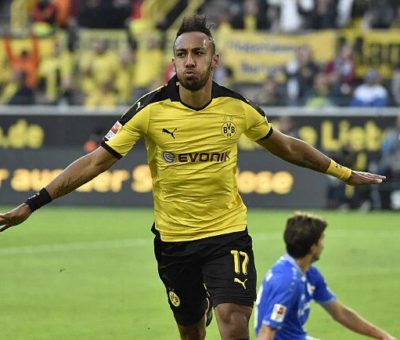 APOTY 2015 Goes To Perre Emerick Aubameyang From Gabon