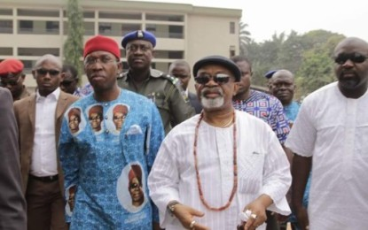 Chris Ngige Father's Burial: Dignitaries Flood Alor Anambra State (Pictures)