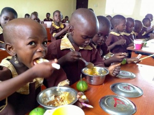 Free School Meals: Nigeria Vs 8 Other Countries ( Pictures)