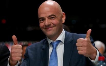 Gianni Infantino Becomes FIFA president.