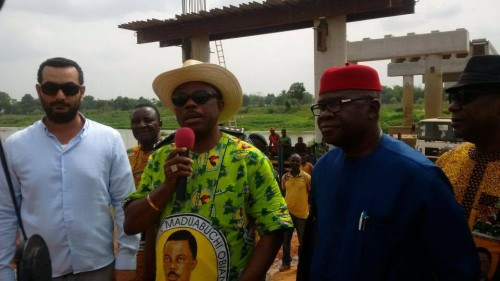 "Gov. Obiano ""The Bridge Builder"" : Connects Communities (Pictures)"
