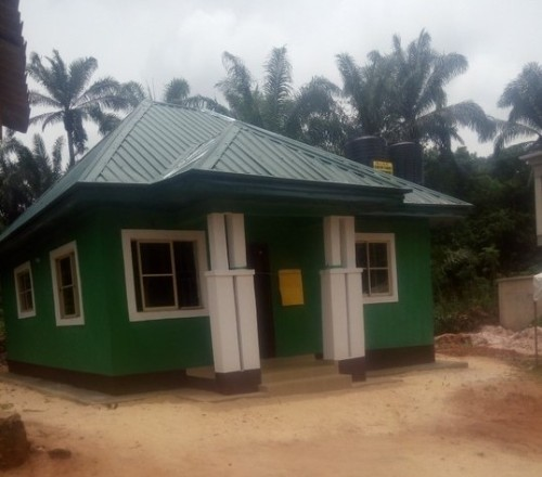 Mrs Obiano Builds A House For A Widow