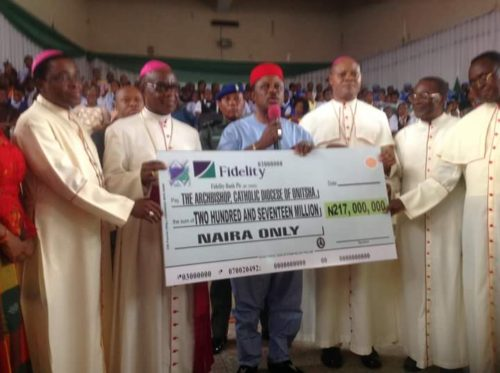 Onitsha Archdiocese And Others Receive =N=367M From Obiano For Education