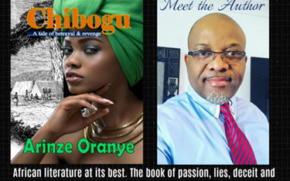 Onitsha Born Mathematician Releases Novel; 'Chibogu'