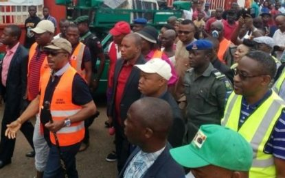 Leadership By Example Gov. Obiano Observes Sanitation (Pictures)