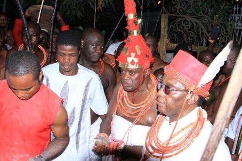 Coronation Of 39th Oba Of Benin Begins (Pictures)