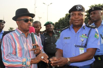 Obiano Improves Security In Anambra By Donating Smart Motorbikes
