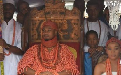"24 Year Emerges ""Agbogidi"" Of Great Issele-Uku Kingdom"
