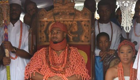 "24 Year Emerges ""Agbogidi"" Of Great Issele-Uku Kingdom"