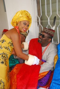Obi Asika and Wife