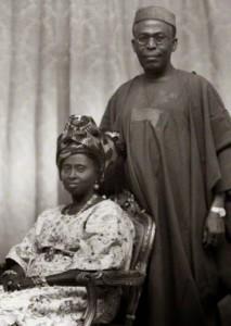 NPG x171534; Hannah Idowu Dideolu Awolowo (nÈe Adelana); Obafemi Awolowo