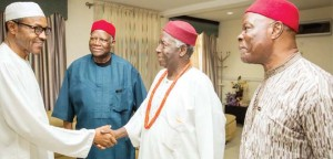Ikedife with Buhari