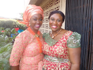 Ezeozo's wife Chize and Sophy