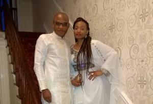 nnamdi kanu and wife