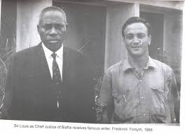 sir louis mbanefo with Forsyth